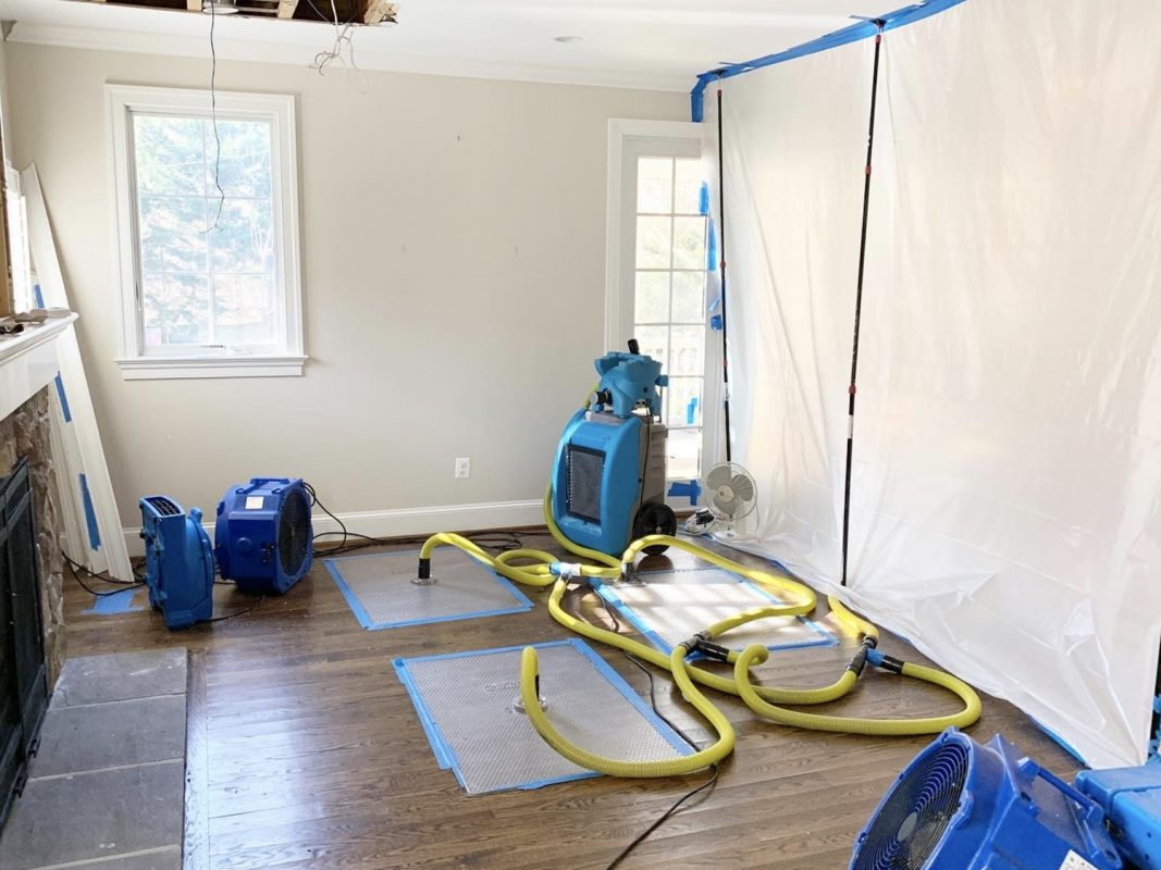 Water Damage Repair Washington DC